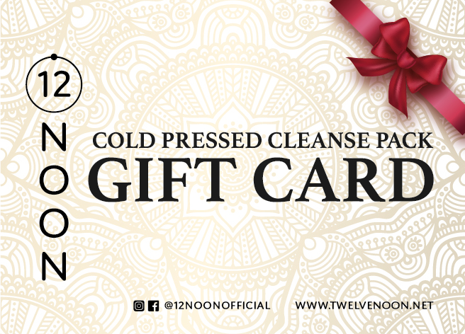HOLIDAY CLEANSE PACKAGE GIFT CARDS AVAILABLE NOW! - For more information, please call our hotline #2487 9098