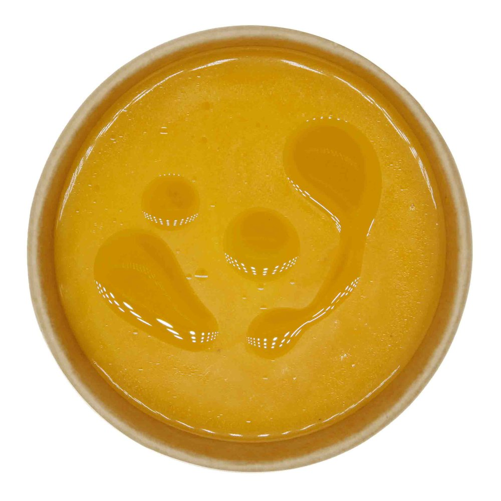 Carrot Soup - 78 KCAL PER SERVINGINGREDIENTS: Carrot, light cream, onion, salt, pepper, olive oil.$28