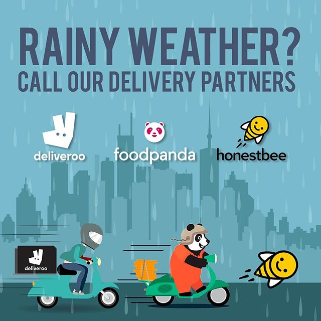Raining Weather? Don't sweat, we got you! Call our delivery partners from DELIVEROO, FOODPANDA & Honestbee. It's Lunchtime! Which one would you be getting for lunch?🍽. . . . #food #healthyfood #healthyeating #heathylife #healthybreakfast #juice #juicecleanse #juicecleansing #lunch #nanfungplace #hopewell #deliveroohk #honestbee #foodpandahk #12Noon #fitfoodstogo #hkigers #hkdaily #hkfoodblogger #hkfoodie #hkfoodporn #hongkong
