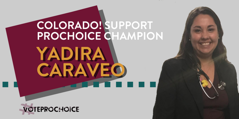 "#VoteProChoice has supported pro-choice candidates across the country since 2016. In March, they announced their endorsement of Caraveo, tweeting the following statement: ""A powerful  #prochoice  champion (who is a Latina pediatrician) is joining our  #ROEvolution !  @YadiraCaraveo  is running to represent  #Colorado 's State House District 31! Help get this  #reprorights  advocate elected!"""