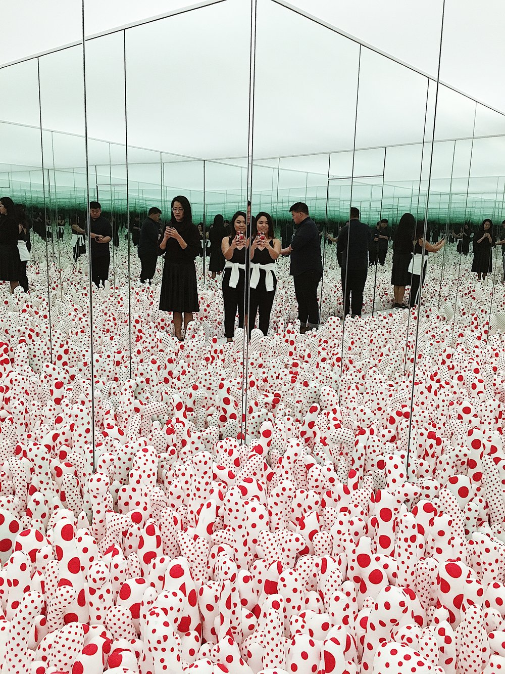 Infinity Mirror Room--Phalli's Field (1965)