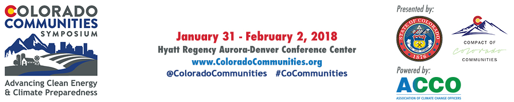 Colorado Communities Symposium
