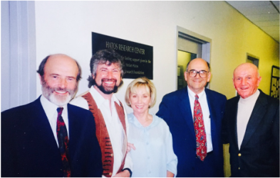 Dr. Peter Whybrow, Dr. Chris Evans, Shirley Hatos, Dr. Jack Barchas, Stefan Hatos