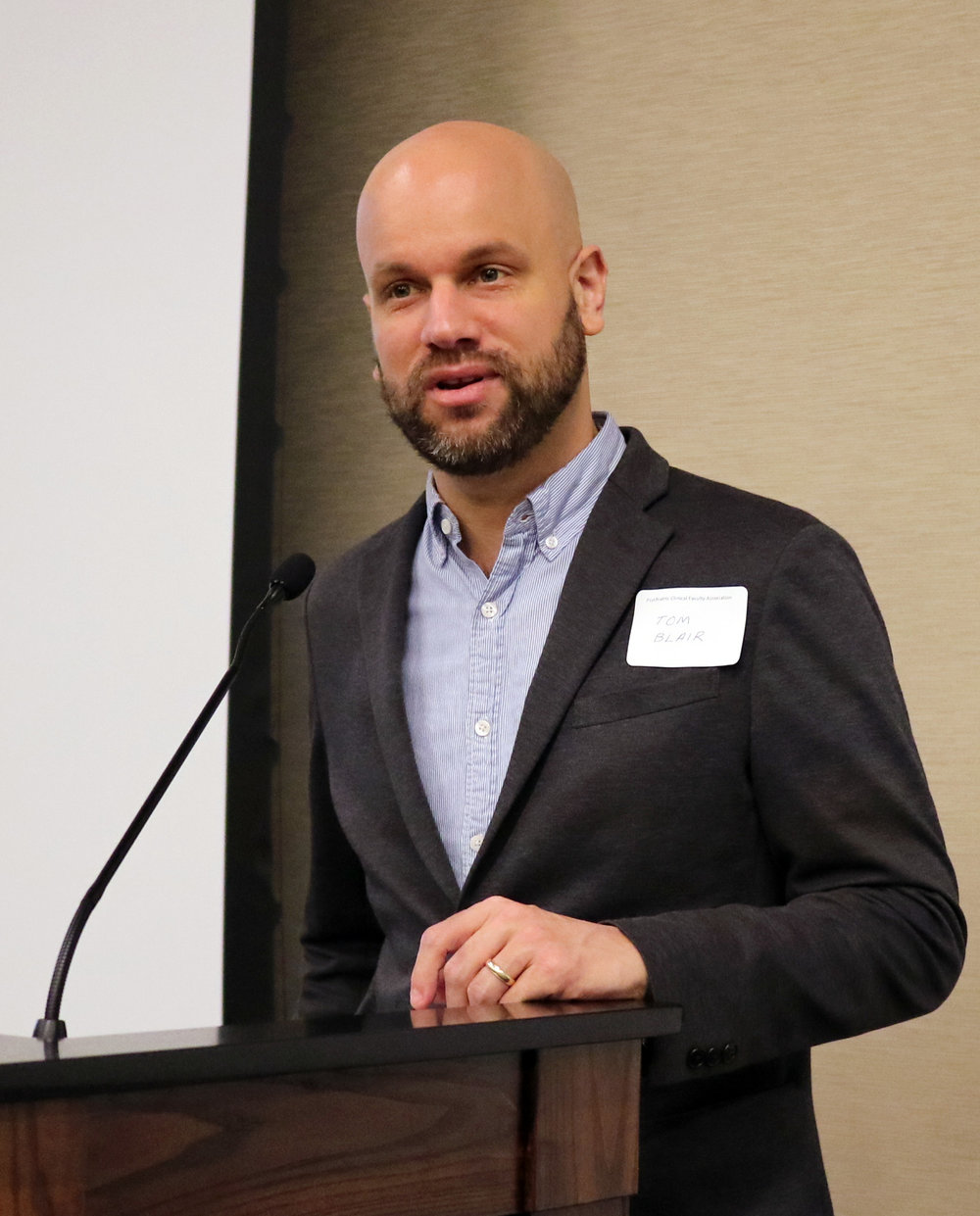 Thomas Blair, PCFA Board Member