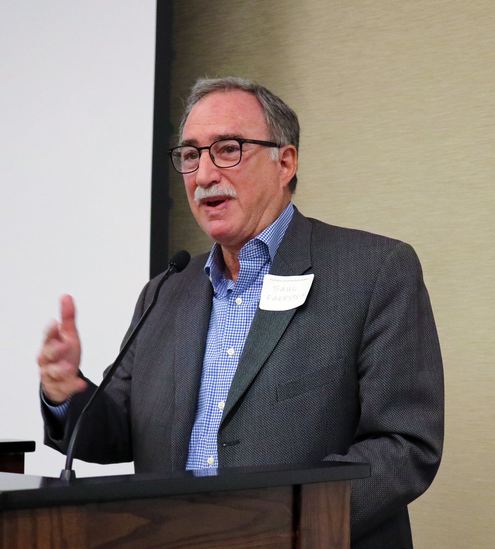 Saul Faerstein, VCFAAAC Chair