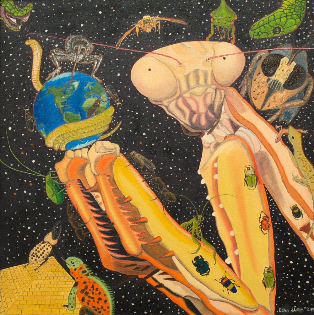 It's a Mantis World