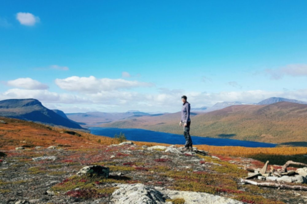 Kungsleden - 5 week solo trek across the wilderness of arctic Sweden.