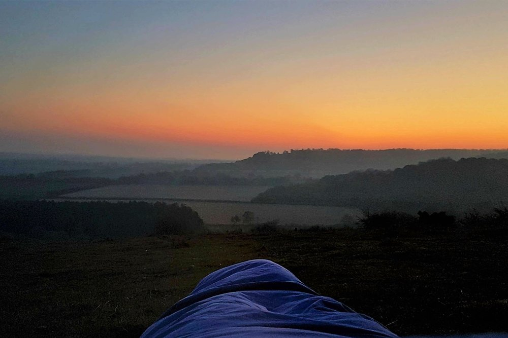 A night under the stars: my first bivvy adventure -