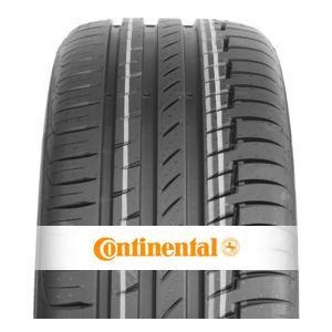 Le dernier né des usines Continental, le contipremiumcontact6 dispose d'un nouveau mélange de gomme qui améliore les distances de freinage ainsi que les performances du pneu. -