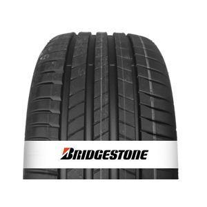 Le Bridgestone T005, équipé de la dernière technologie des usines Bridgestone, la