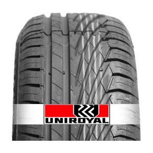 Avec le profil asymétrique, de son Rainsport 3 Uniroyal diminue le risque d'aquaplanning et garantit une bonne tenue de route. Disponible avec la technologie Run on flat (SSR). -