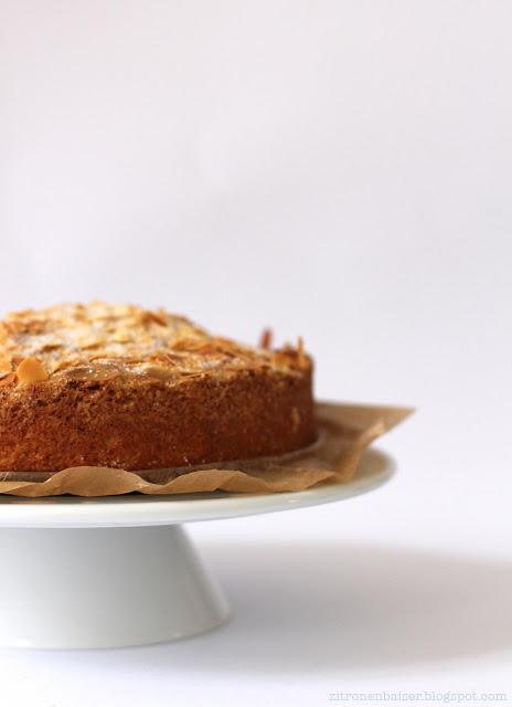 Rezept schwedischer Mandelkuchen Sonntagskuchen
