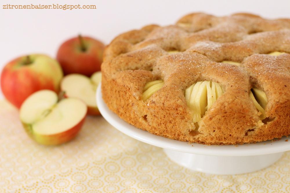 Ich Back S Mir Vegan Versunkener Apfelkuchen Theresa Kellner