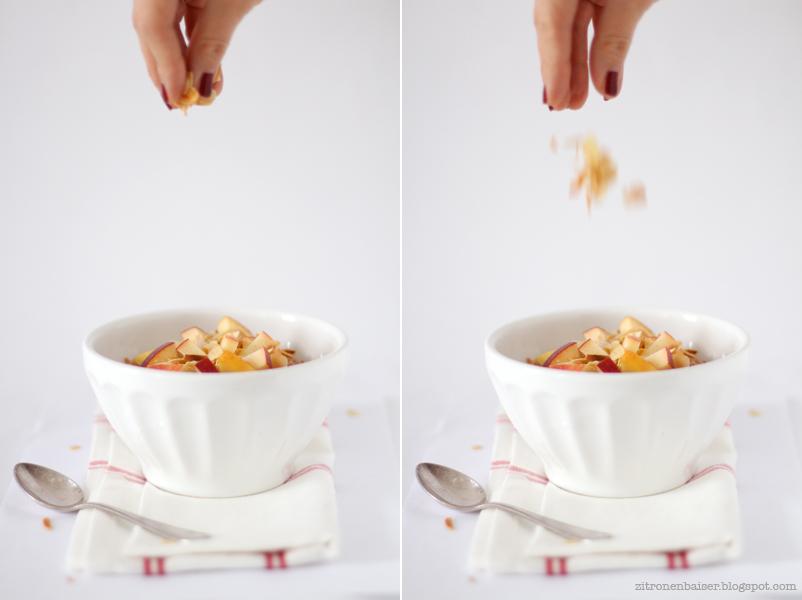 Rezept für Weihnachtliches Bratapfel-Porridge / THE.WAITRESS. Blog