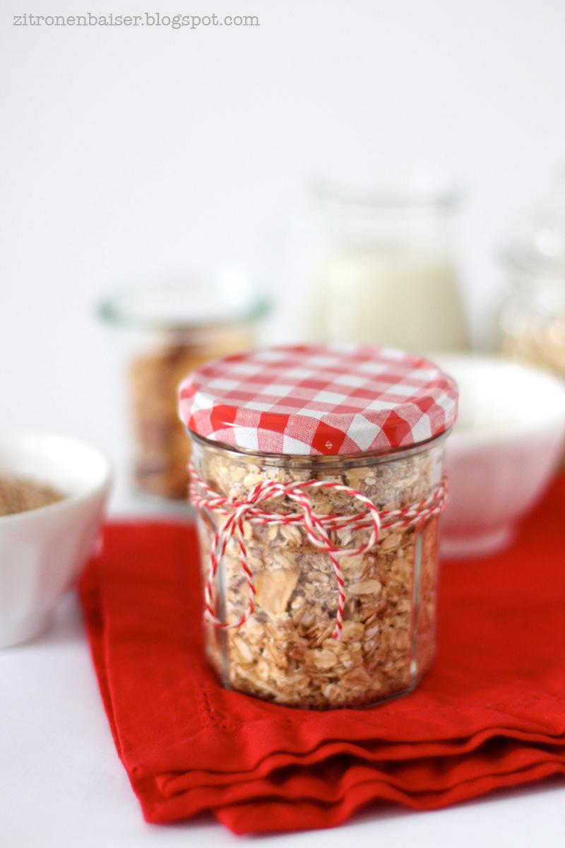 Weihnachtliches Bratapfel-Porridge zum Verschenken / THE.WAITRESS. Blog
