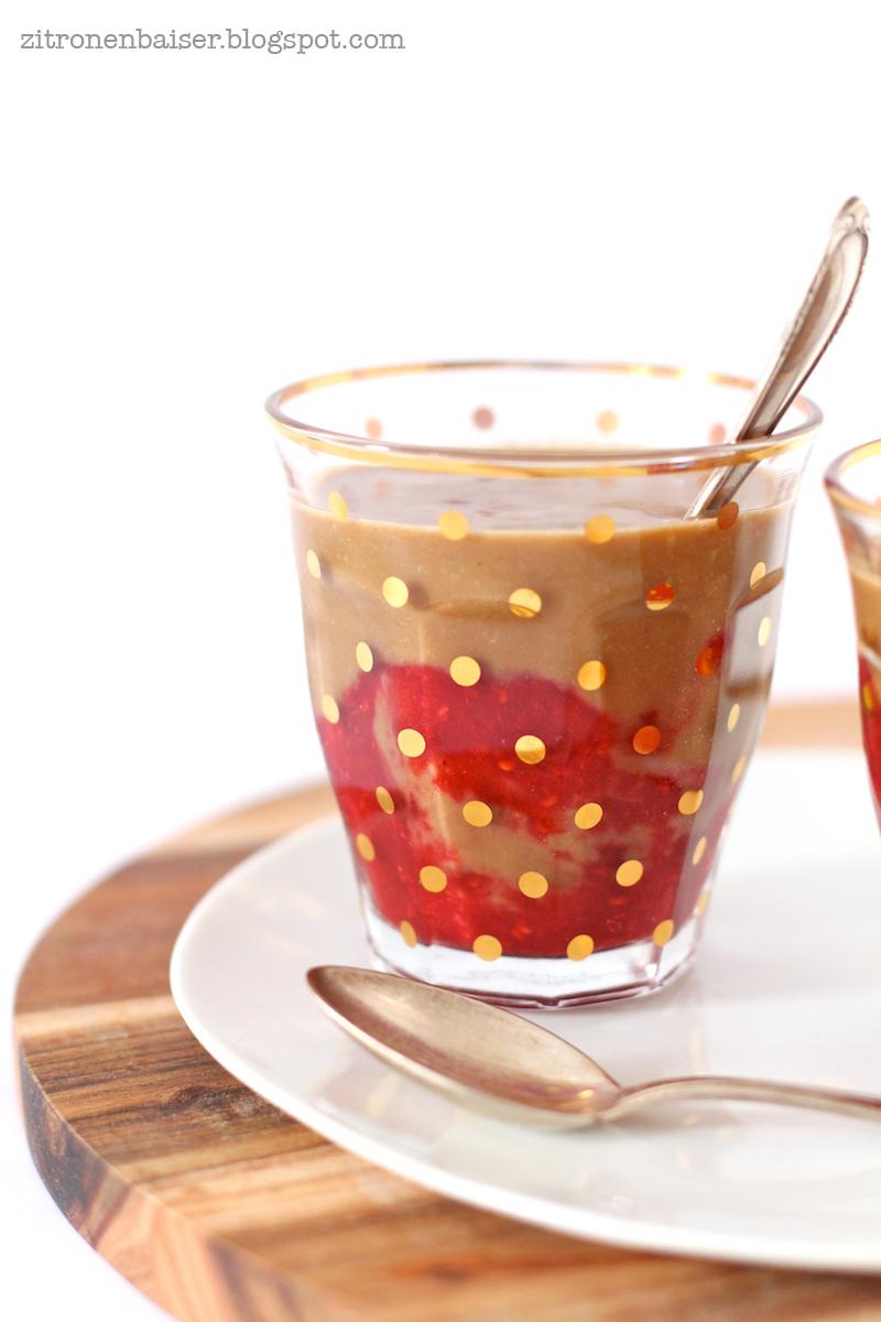 Leckerer Avocado-Kakao-Smoothie mit Himbeeren / THE.WAITRESS. Blog