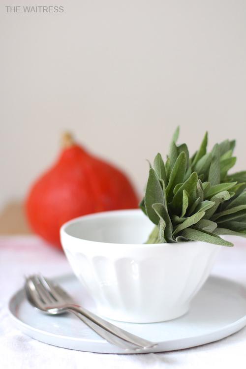 Rezept für Kürbis-Salbei-Pasta / The.Waitress. Blog