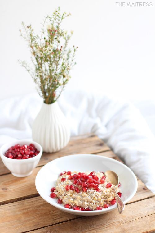 Rezept für mein leckeres, veganes Chai-Porridge / Theresa Kellner