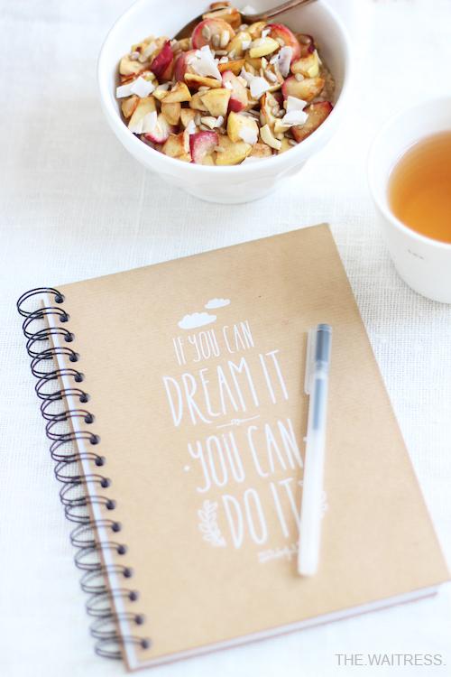 Tipps für Zielsetzung und Zeitplanung / THE.WAITRESS. Blog