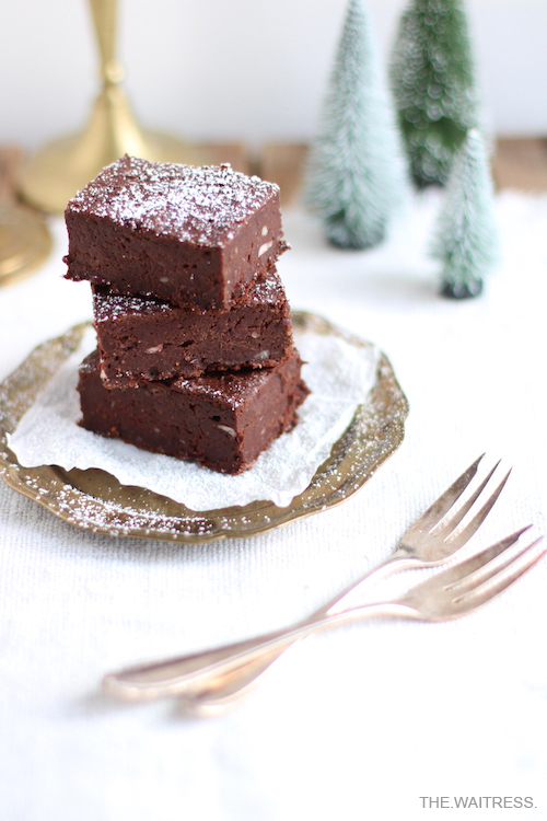 Rezept für vegane Brownies mit Kidneybohnen / THE.WAITRESS. Blogkidneybohnen-thewaitress-blog