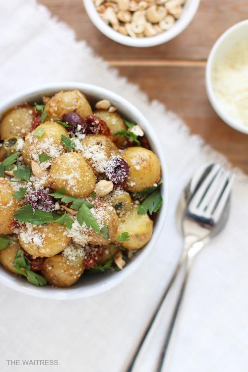 Der beste mediterrane Kartoffelsalat / THE.WAITRESS. Blog