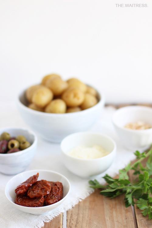 Zutaten mediterraner Kartoffelsalat / THE.WAITRESS. Blog