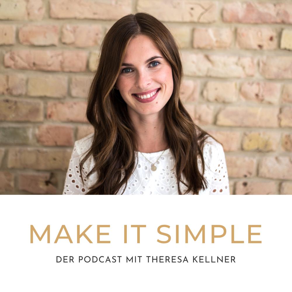 """Mein Podcast für dich! - """"Make it simple"""" ist der Podcast, der dein Leben leichter macht! Jede Woche Dienstag gibt es eine brandneue Folge, die dich inspiriert, dein Leben selbstbewusst in die Hand zu nehmen, es mutig zu gestalten und aus der Leichtigkeit heraus zu genießen. Alle Folgen findest du hier, bei iTunes und bei Spotify."""