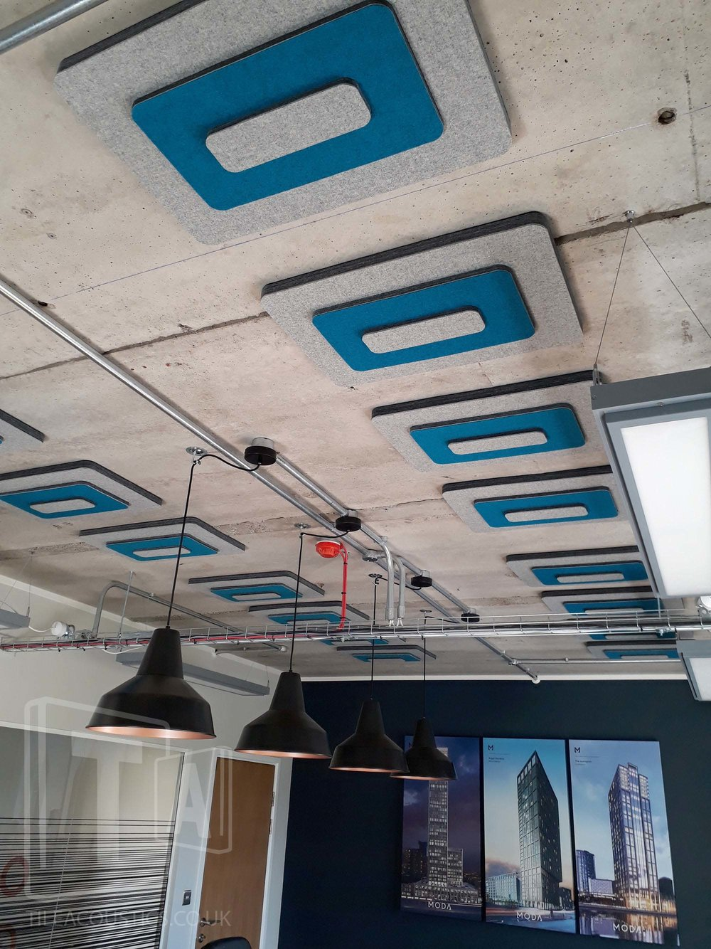 office ceiling acoustic panel