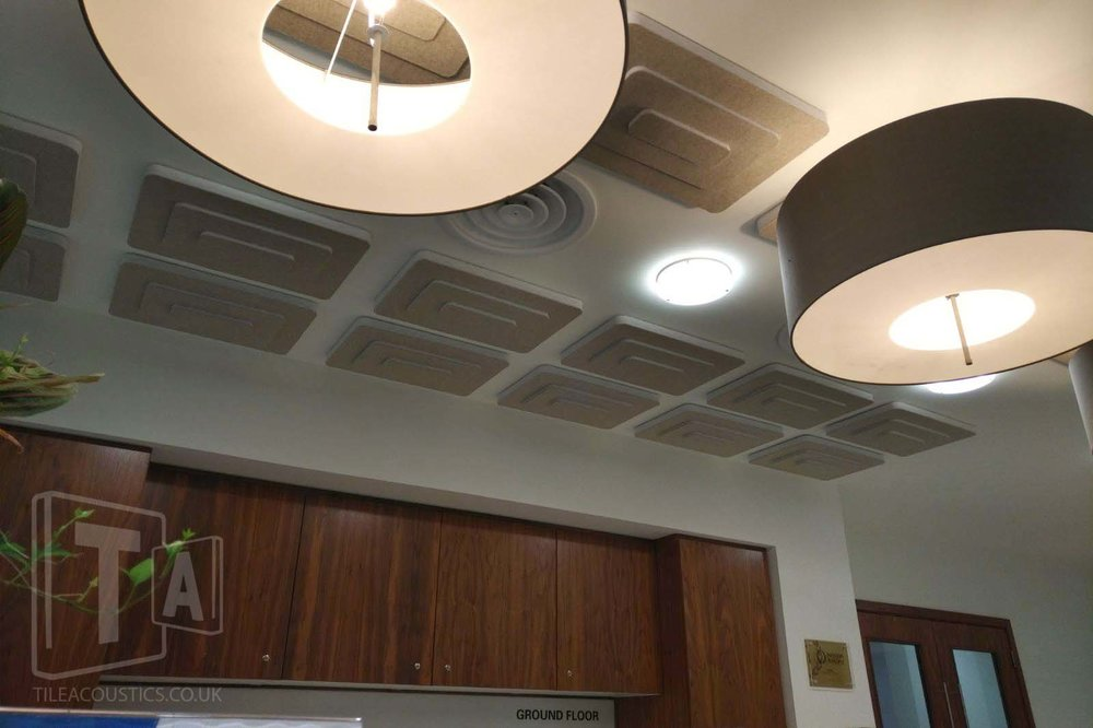 sound absorbing ceiling tiles