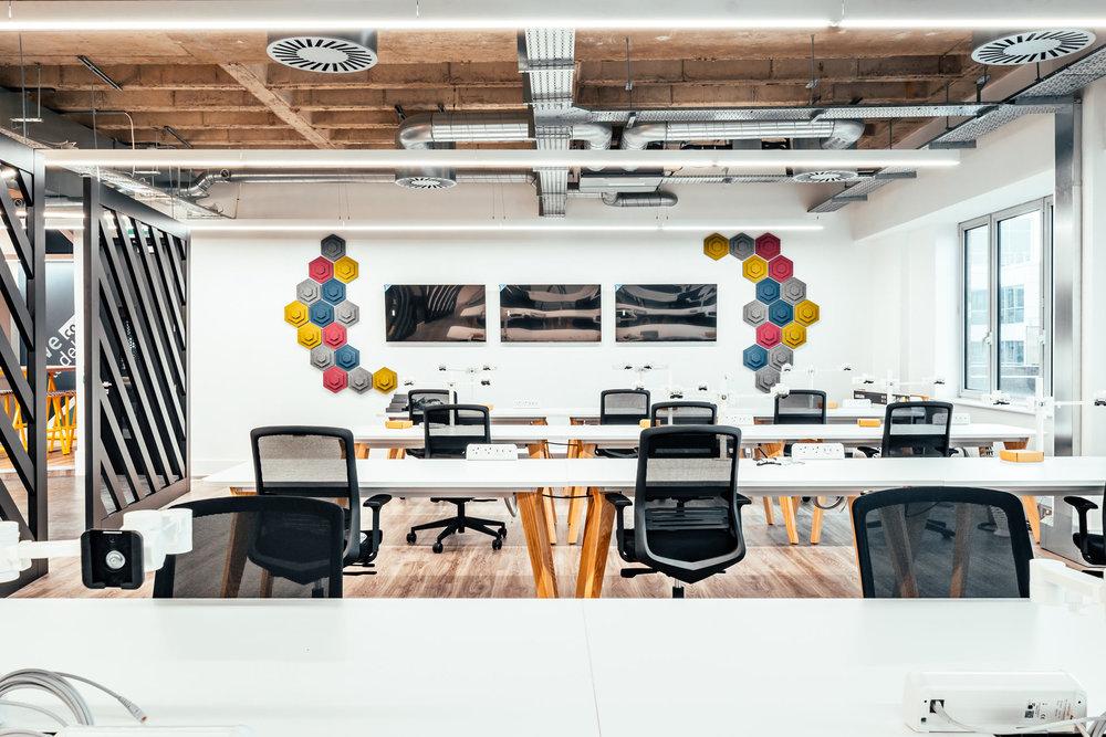 open plan office acoustics