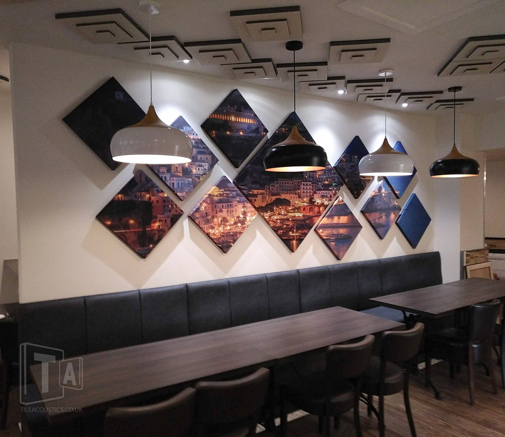 decorative wall panels for restaurants