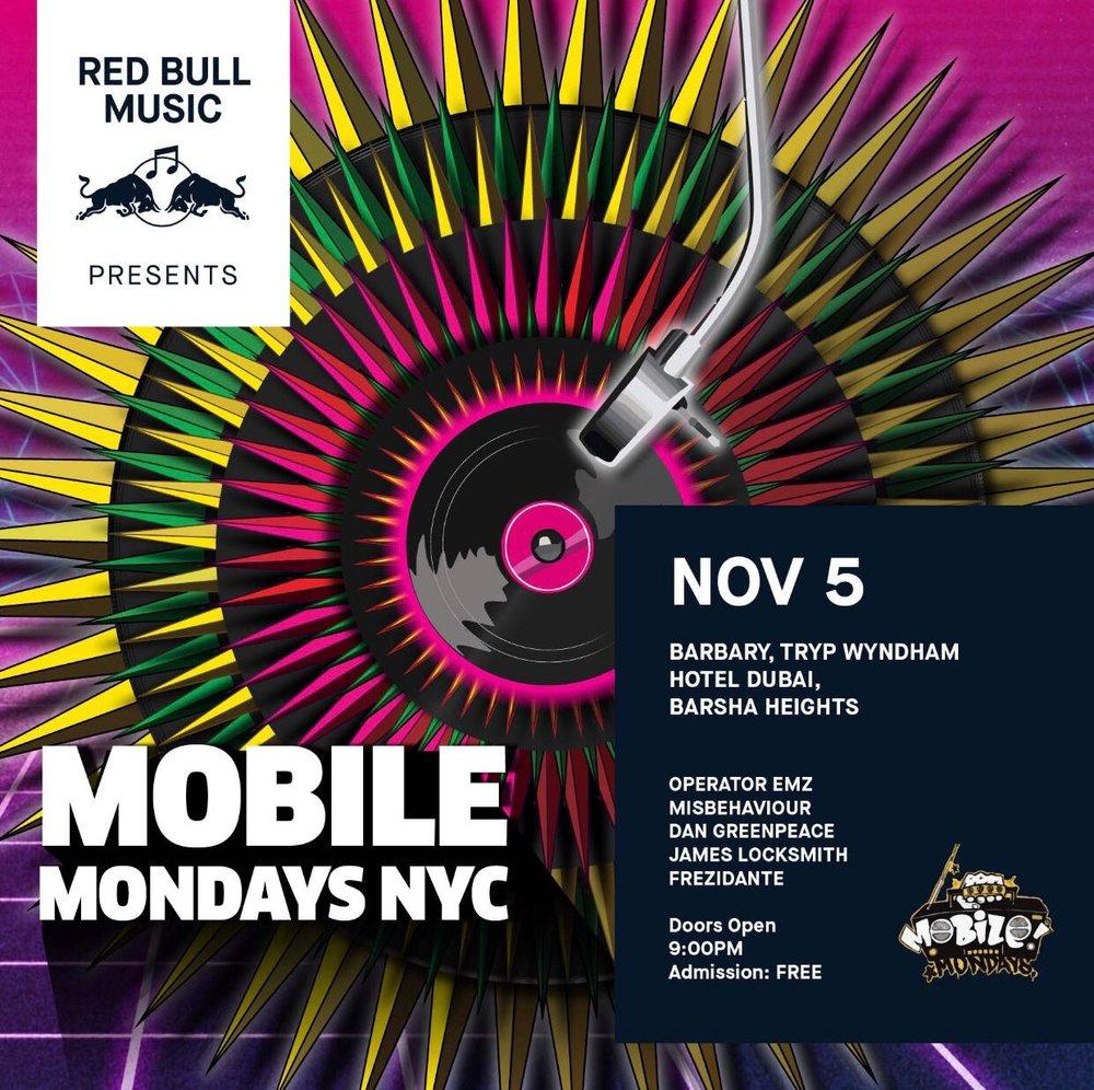 MOBILE MONDAYS NYC-DXB