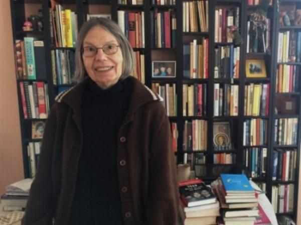 Nach Jahren in den USA lebte Gretchen Dutschke heute wieder in einem alternativen Wohnprojekt in Berlin. (c) Hannah Wagner