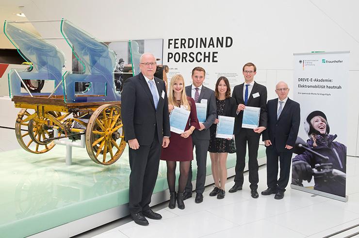 Die DRIVE-E-Studienpreisträger 2017 Foto: Uli Regenscheit