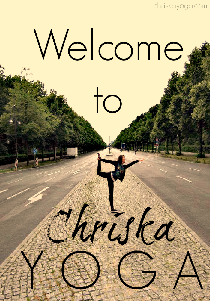 Welcome to the ChriskaYoga Blog!