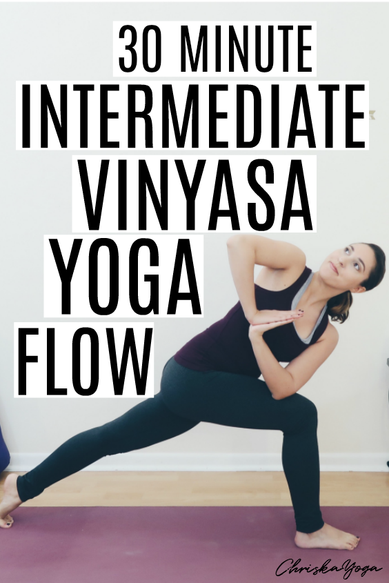 30 Minute Intermediate Vinyasa Yoga Flow
