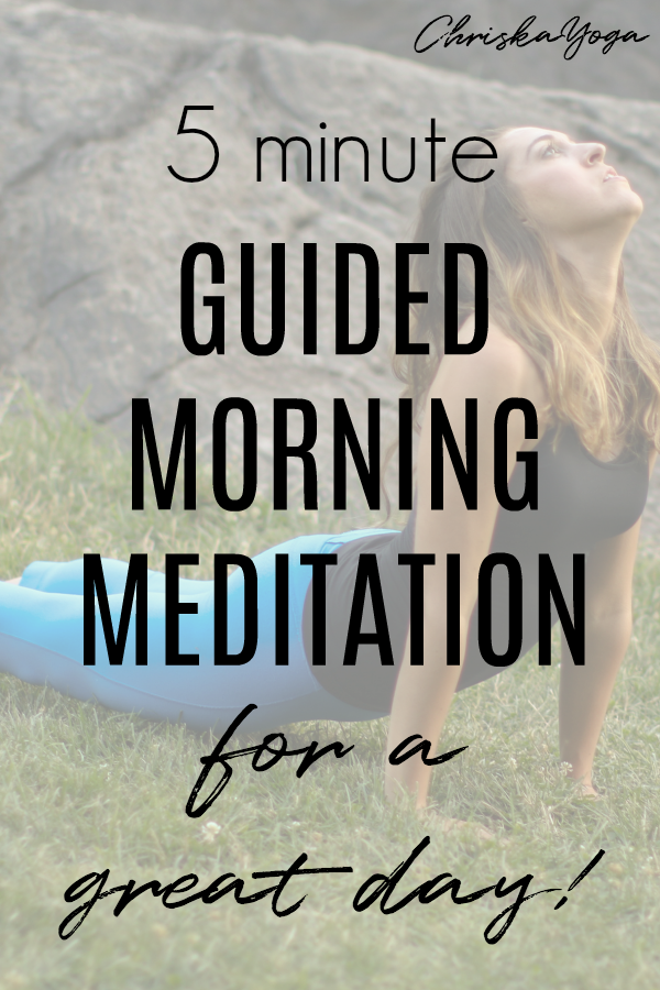 5 Minute Guided Morning Meditation for a Great Day