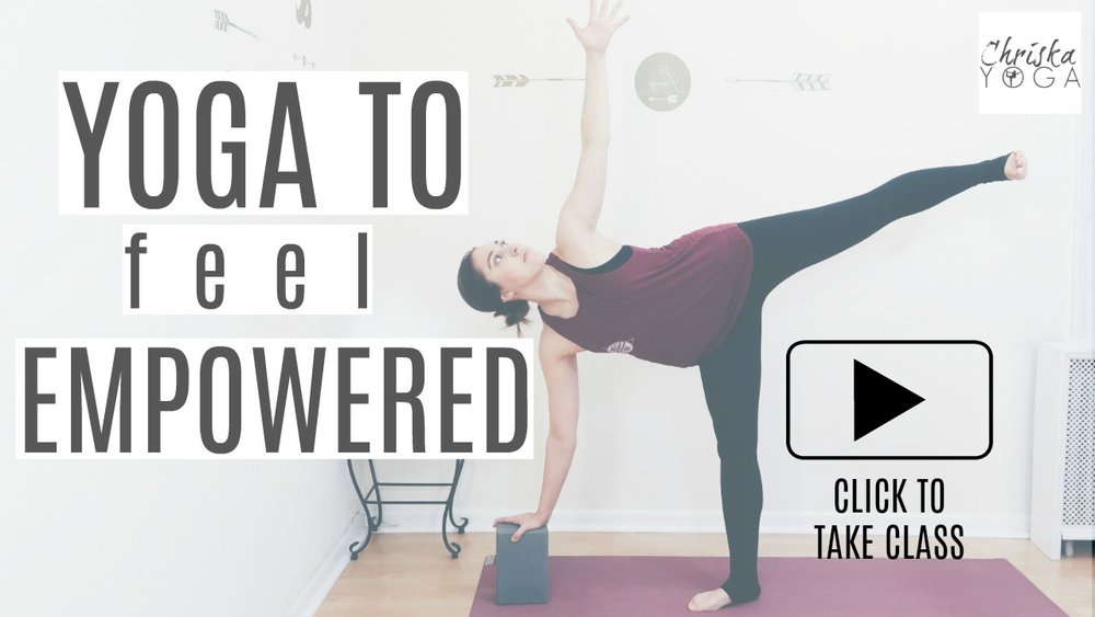 40 Minute Yoga to Feel Empowered - Empowering Yoga Class