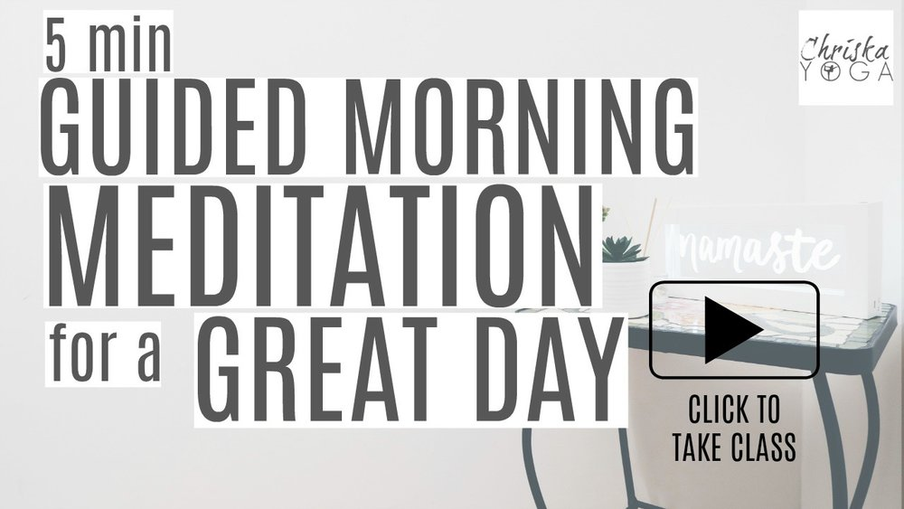 5 Minute Morning Guided Meditation for a Great Day