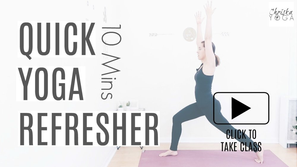 10 Minute Quick Yoga Refresher