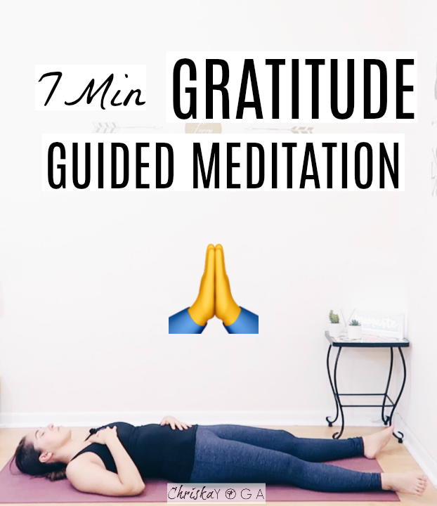 7 Minute Guided Meditation for Gratitude