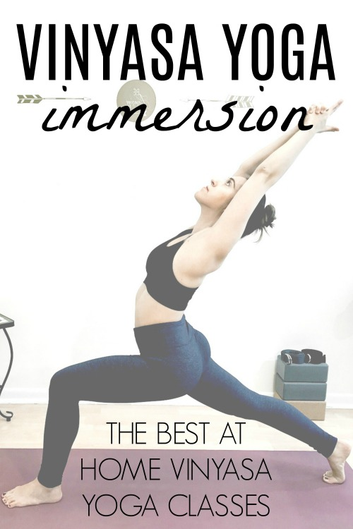 Vinyasa Yoga At Home Immersion Course - Vinyasa Yoga Challenge