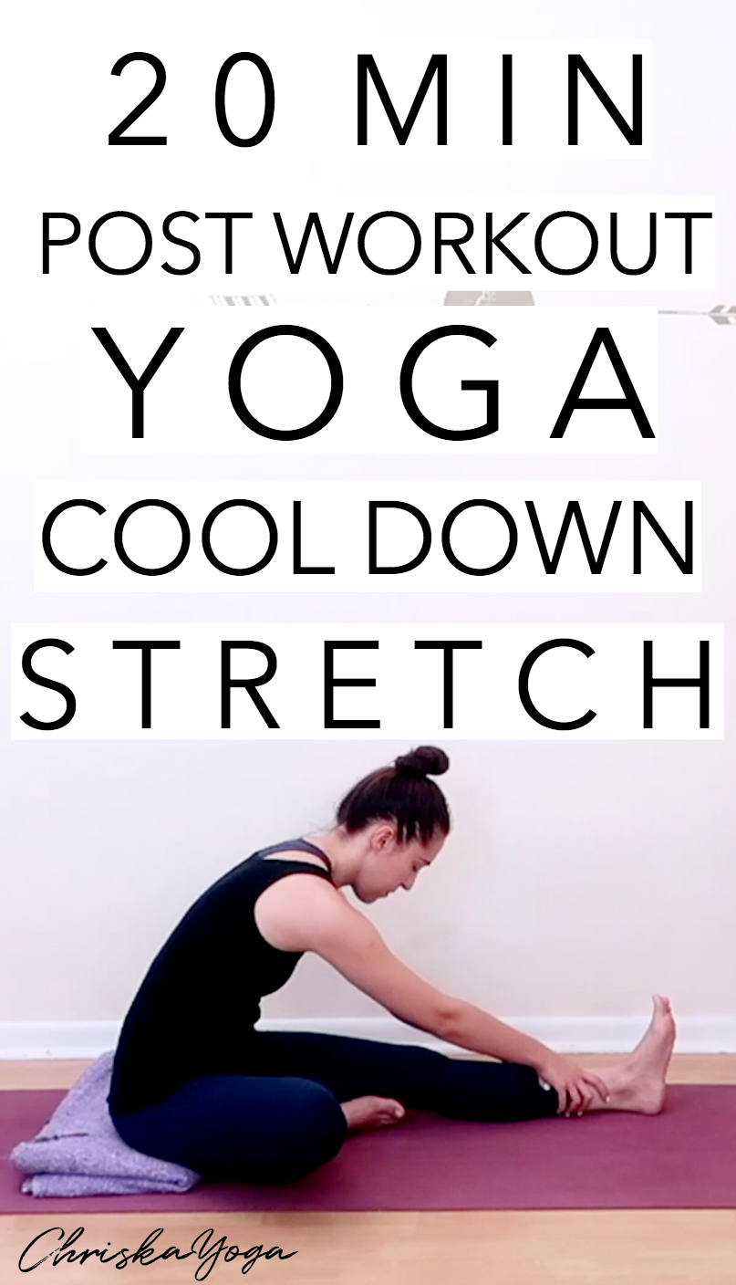 20 Minute Post Workout Cool Down Yoga Stretch - After workout yoga