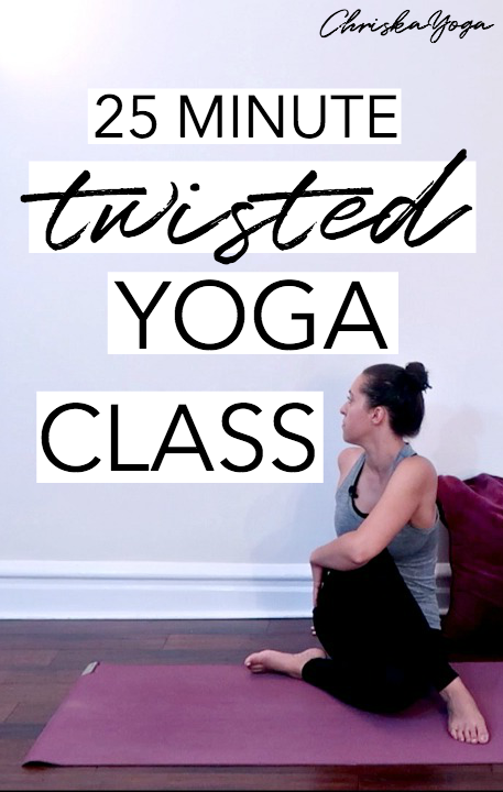 25 Minute Twisted Yoga Routine - Yoga for Spine and Back flexibility and mobility