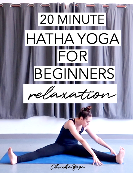 hatha yoga for beginners - yoga to relax - yoga for relaxation - chriskayoga