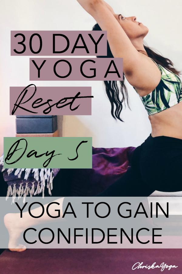 yoga to build confidence - yoga for self confidence