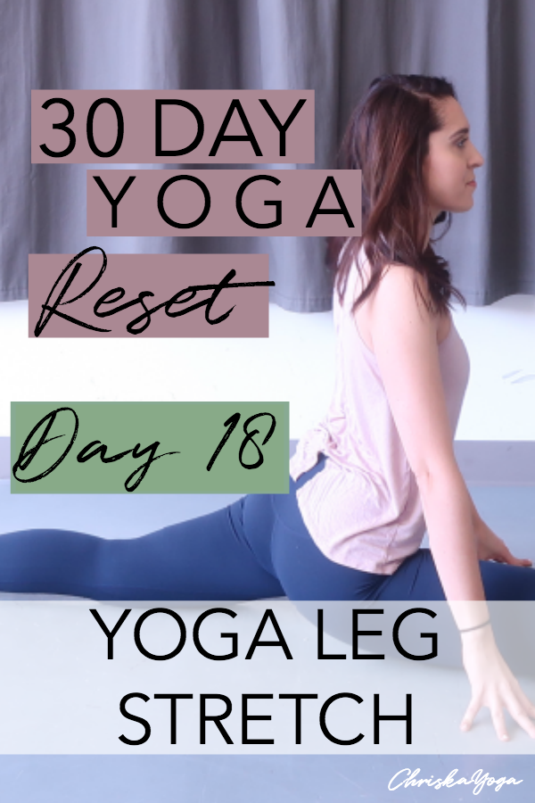 20 minute yoga stretch for legs - hatha yoga for sore leg muscles