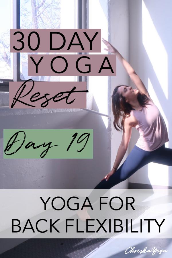 25 minute hatha yoga stretch for back flexibility - yoga back stretch - back stretch at home
