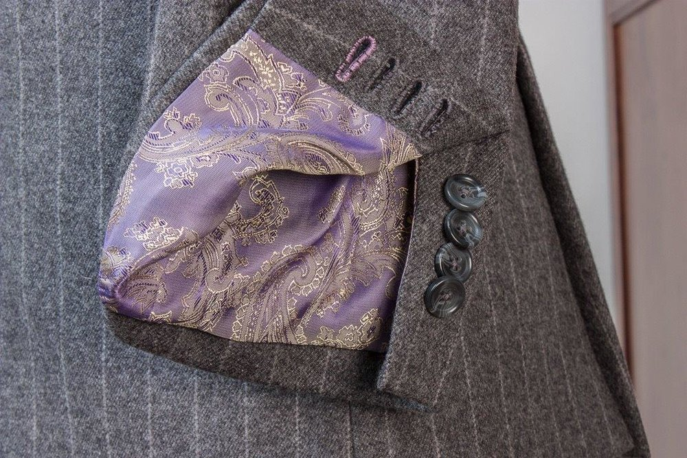 Gray+Grey+Flannel+Chalkstripe+3+piece+Suit+-+2+buttons+-+Paisley+Lining+-+Purple+Waistcoat+-+Fishtail+Trousers+buckle+and+turnup+(5).jpg