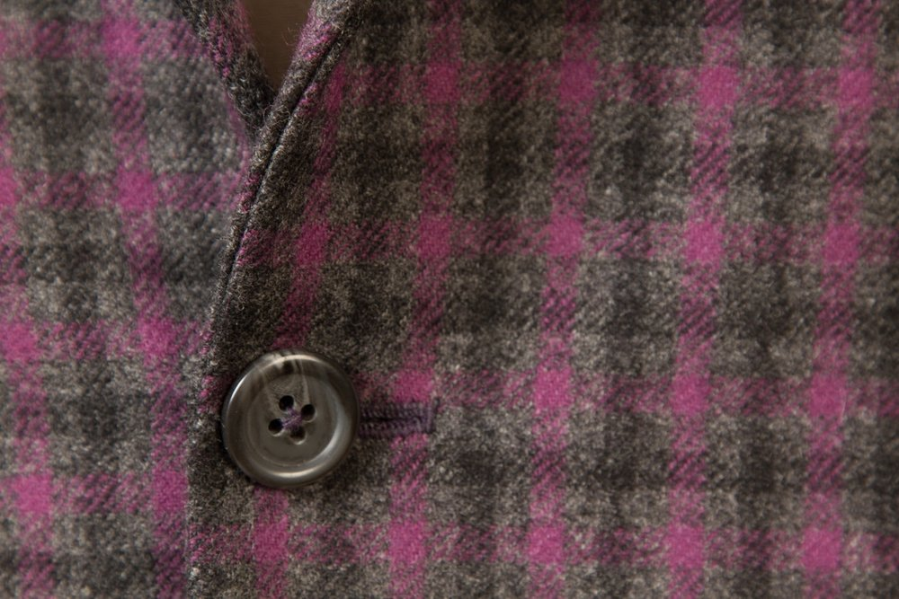 One+Button+Cashmere+Sportsjacket+With+Patch+Pockets+And+Fuchsia+Lining+SherryKash+Gray-Purple+Gun+Club+3-4x1%22+++HS1490+6955B-10.jpg